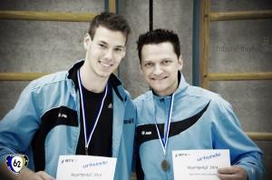 Zweimal schwäbischer Meister 2014. Anton Klenz und Matthias Wörner