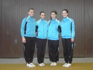 Chiara, Alice, Friederike und Doris